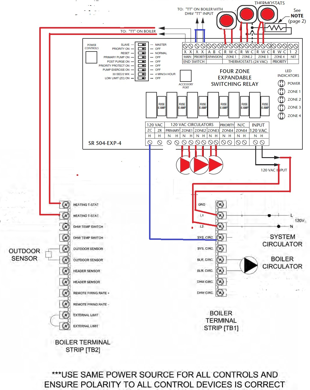 taco wiring diagram car capacitor sr504 schematic get free image about