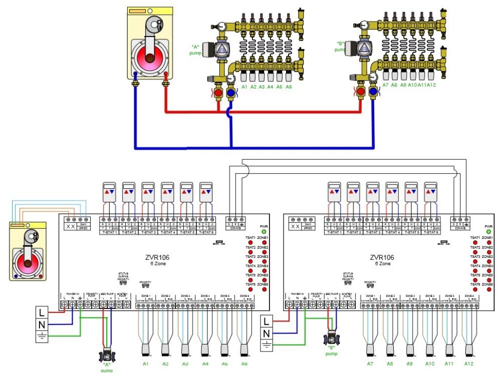 medium resolution of caleffi zone valve wiring diagram honeywell thermostat heil 7000 furnace wiring diagram heil electric furnace wiring diagram
