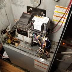 Furnace Blower Humming When Off Wiring Diagram Honeywell Thermostat Beckett Suntec Oil Pump Seizing Up  Heating Help The Wall