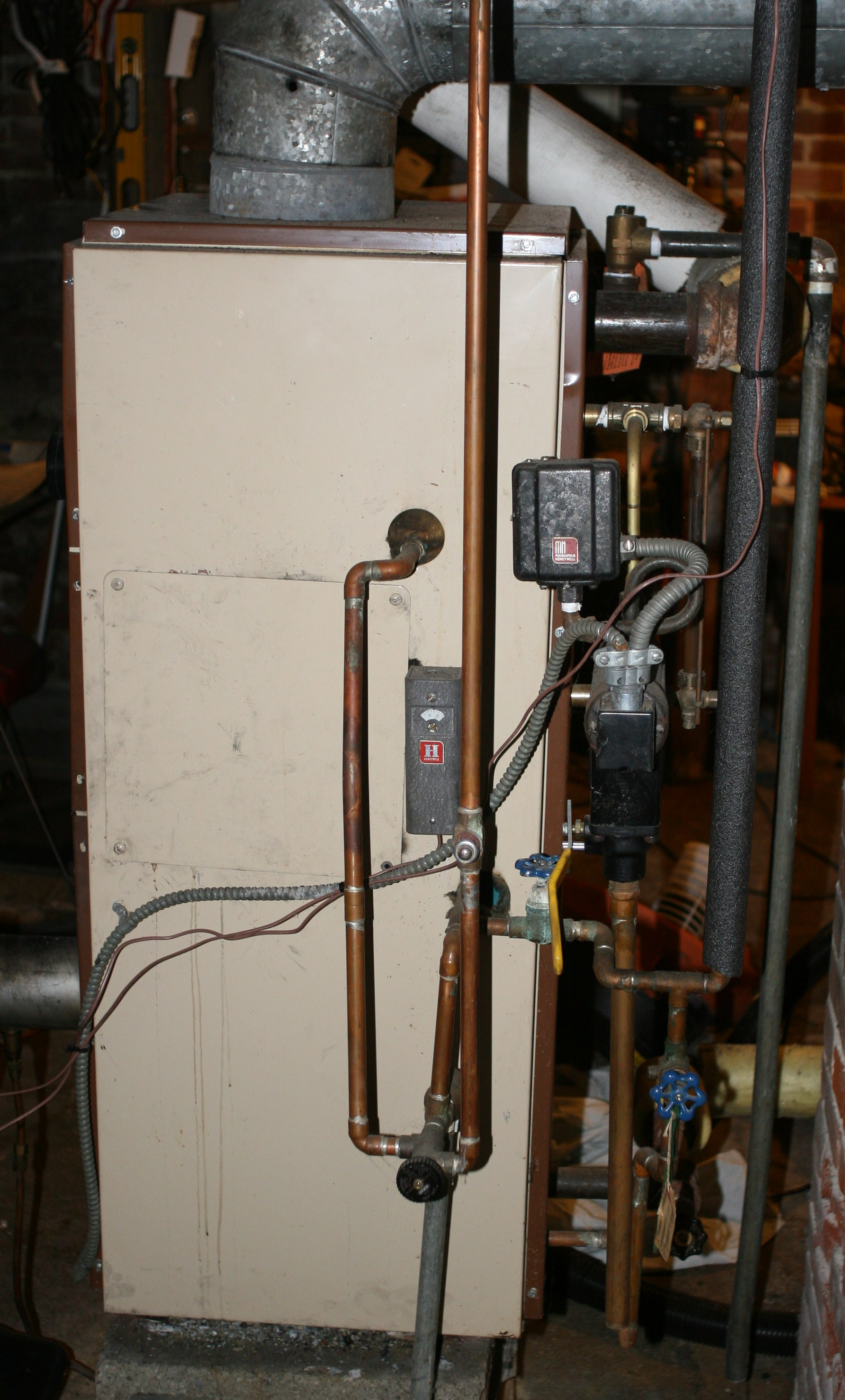 crown steam boiler wiring diagram 2002 trailblazer radio why does the service tech install a 85 gph spray nozzle