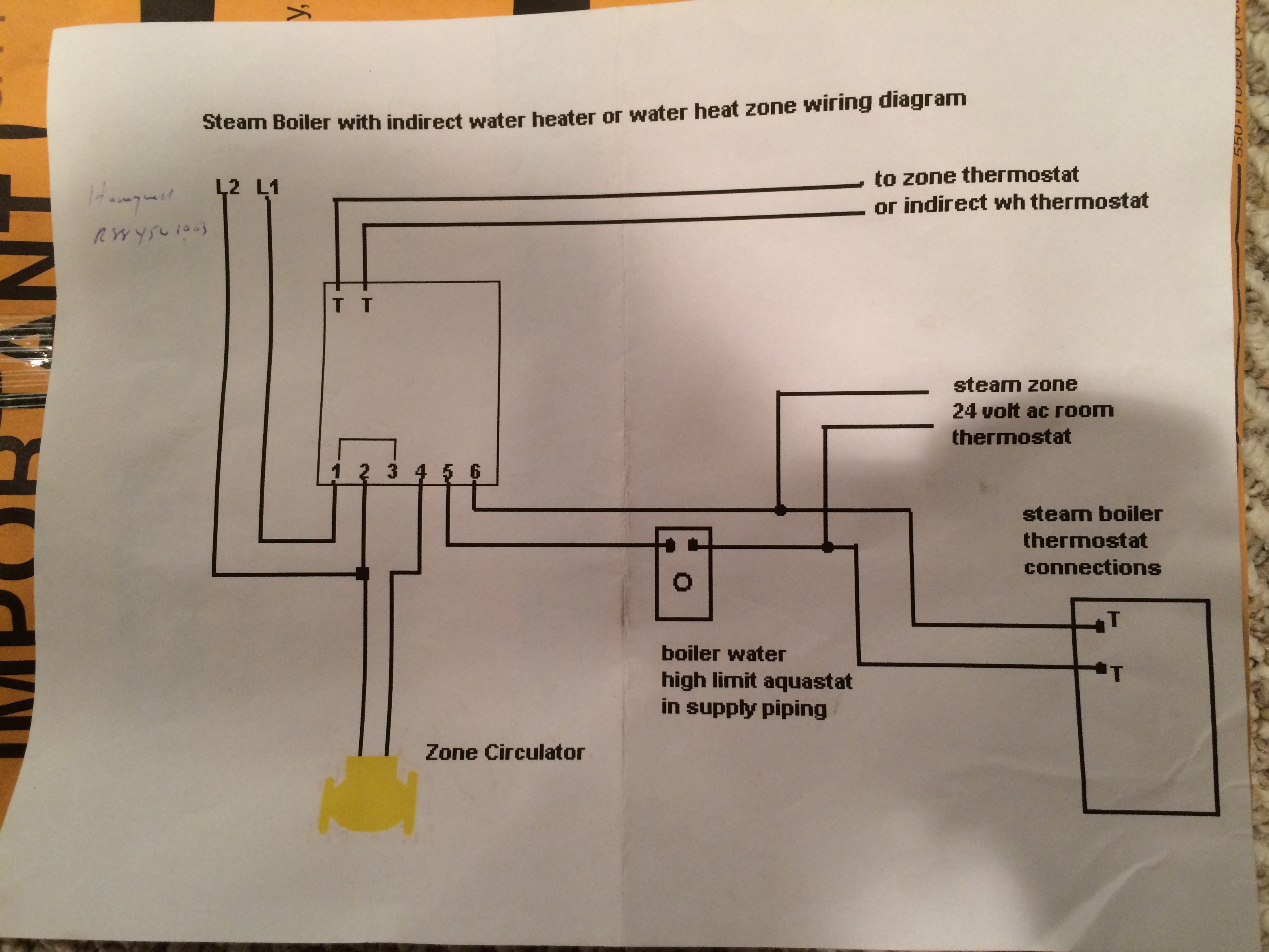scully thermistor wiring diagram mercedes t1 adding baseboard to steam boiler  heating help the wall