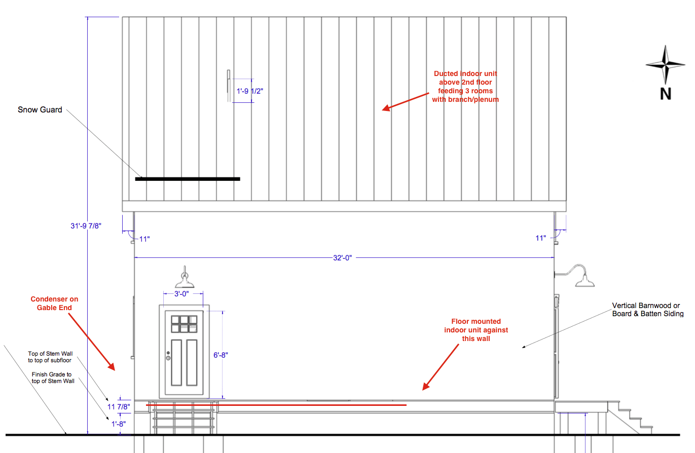 hight resolution of ductless mini split lineset location question exterior or interior