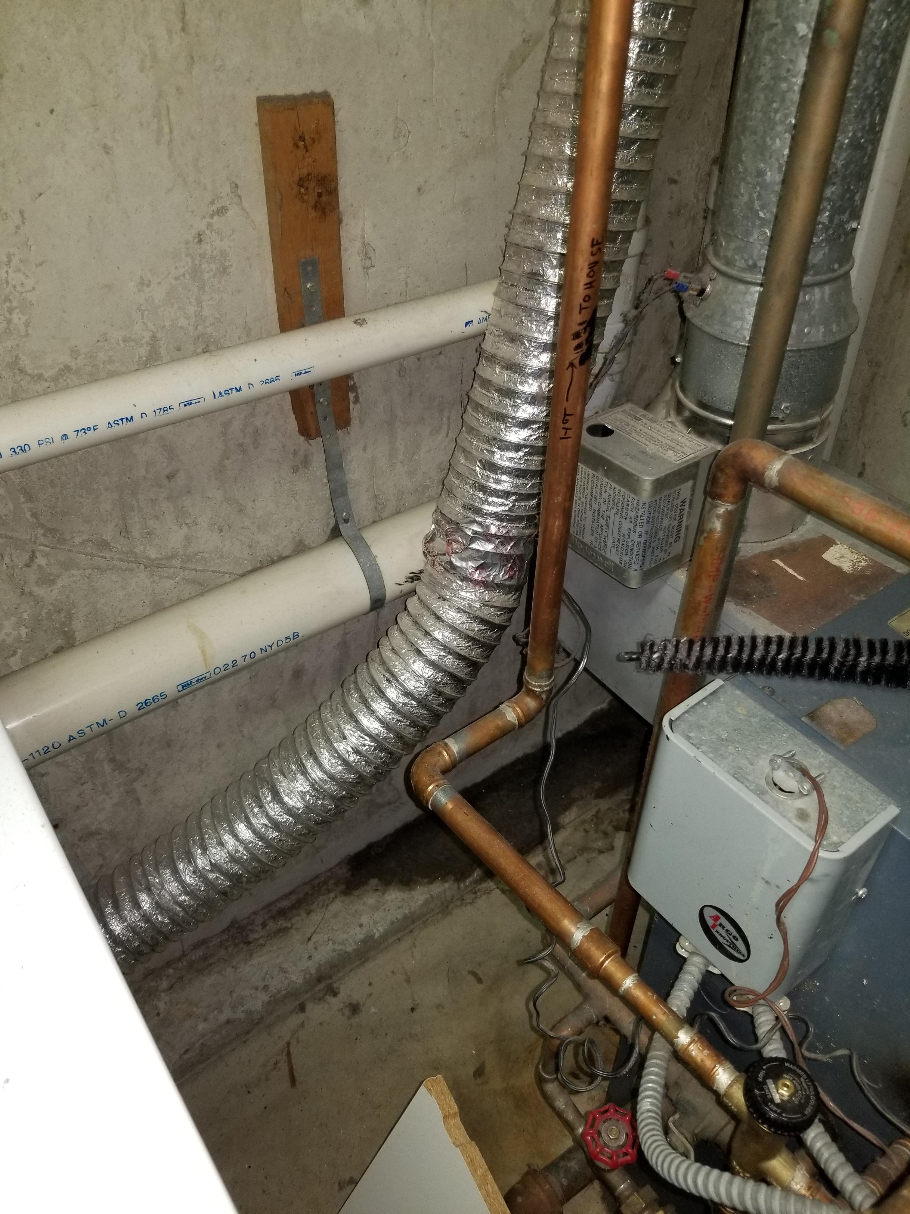 failed under sink shut off valve