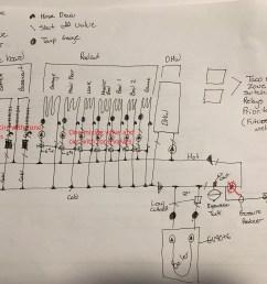 radiant baseboard mechanic room piping layout design u2014 heatingerrl1r2fojr3 jpg 2 1m  [ 4032 x 3024 Pixel ]