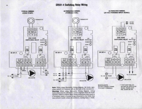 small resolution of taco sr501 4 switching relay dilemma heating help the wall taco sr501 wiring relay
