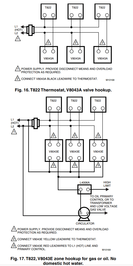 Erie Zone Valve Wiring Diagrams. Erie Valves And Actuators