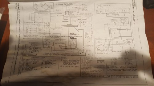 small resolution of there are a few other options this is the schematic for heating and cooling but there is also heating and cooling continuous low speed blower schematic