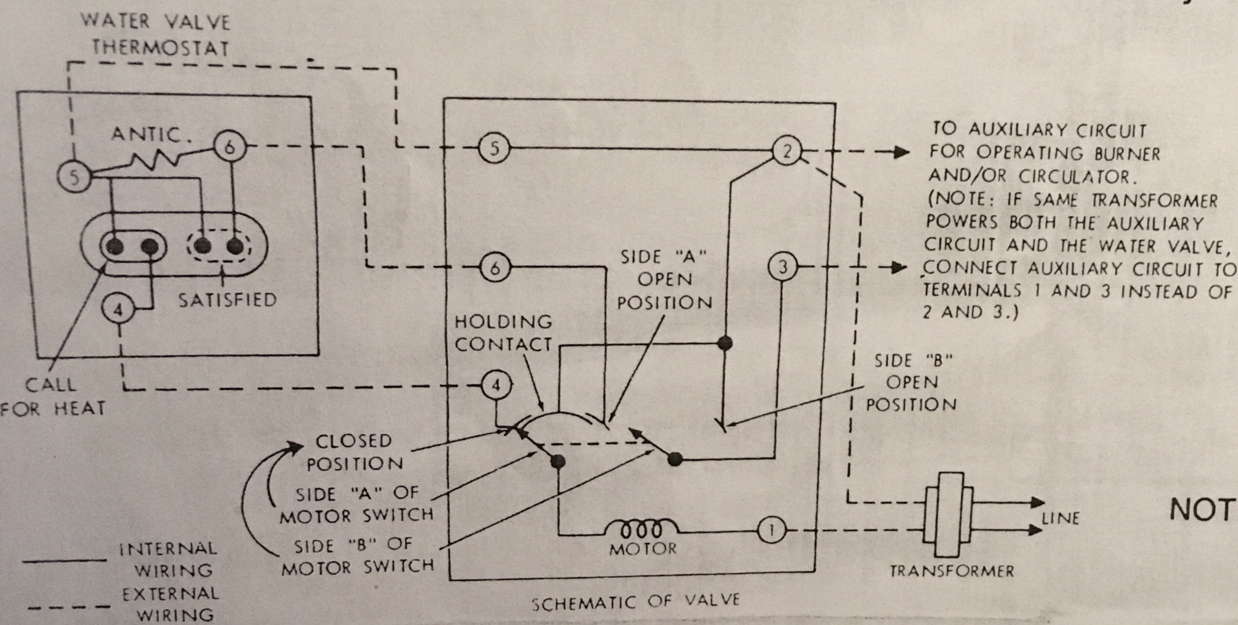 Zone Valve Wiring Diagram On Erie Zone Valve 2 Wire Wiring Diagram