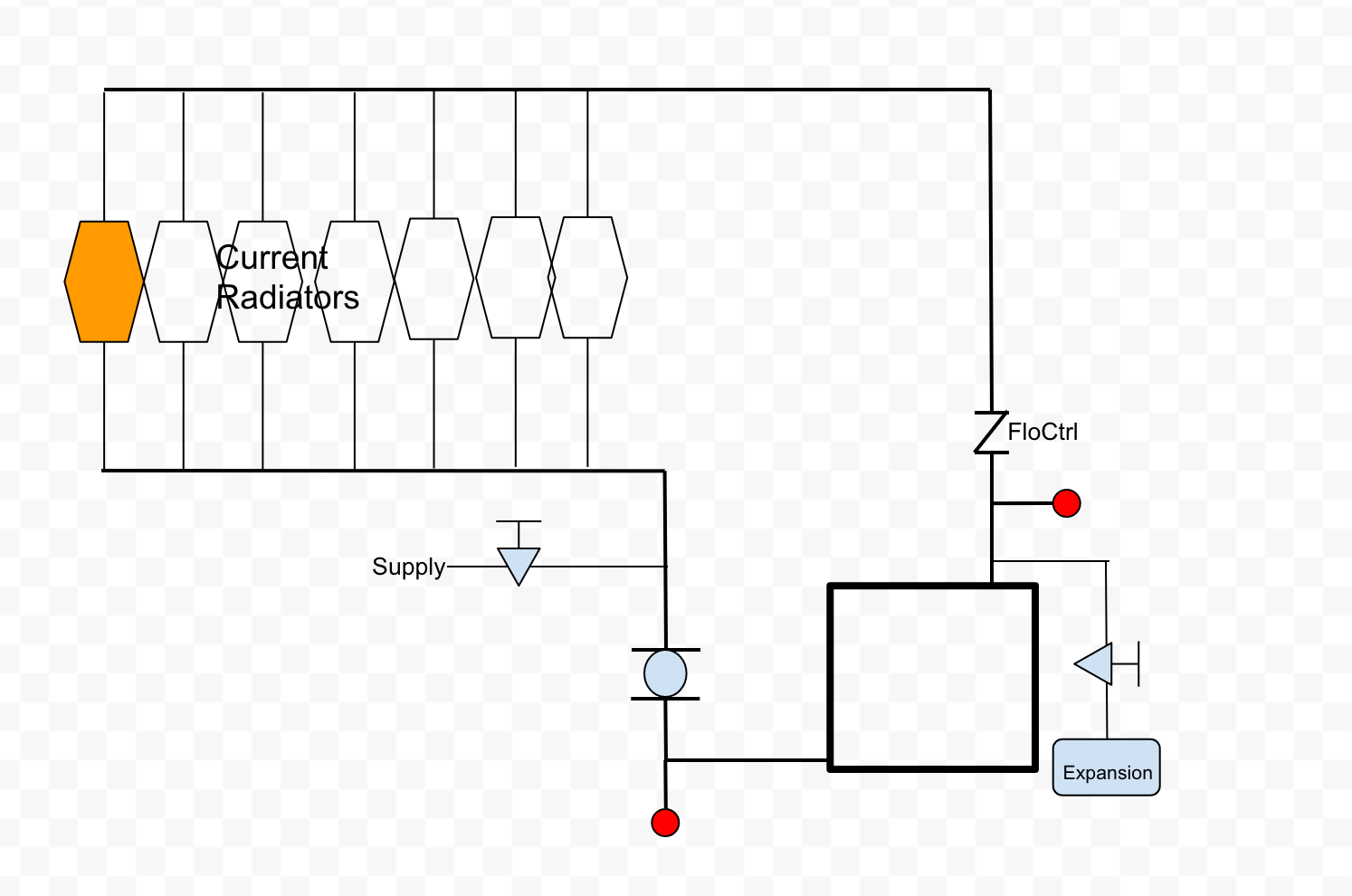 Adding Radiant Zone To Two Pipe Direct Return