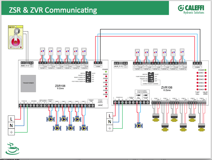 taco pump wiring diagram satellite dish multiple relays with zone valves and pumps — heating help: the wall