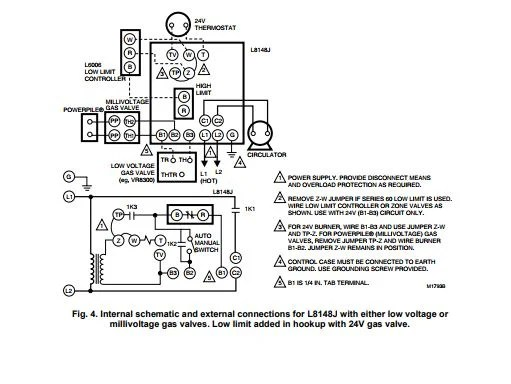 Honeywell Gas Valve Wiring Diagram Internal. Residential