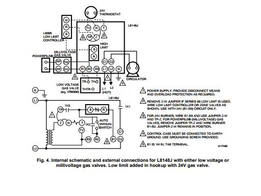 Wiring 120v LWC on Millivolt system — Heating Help: The Wall