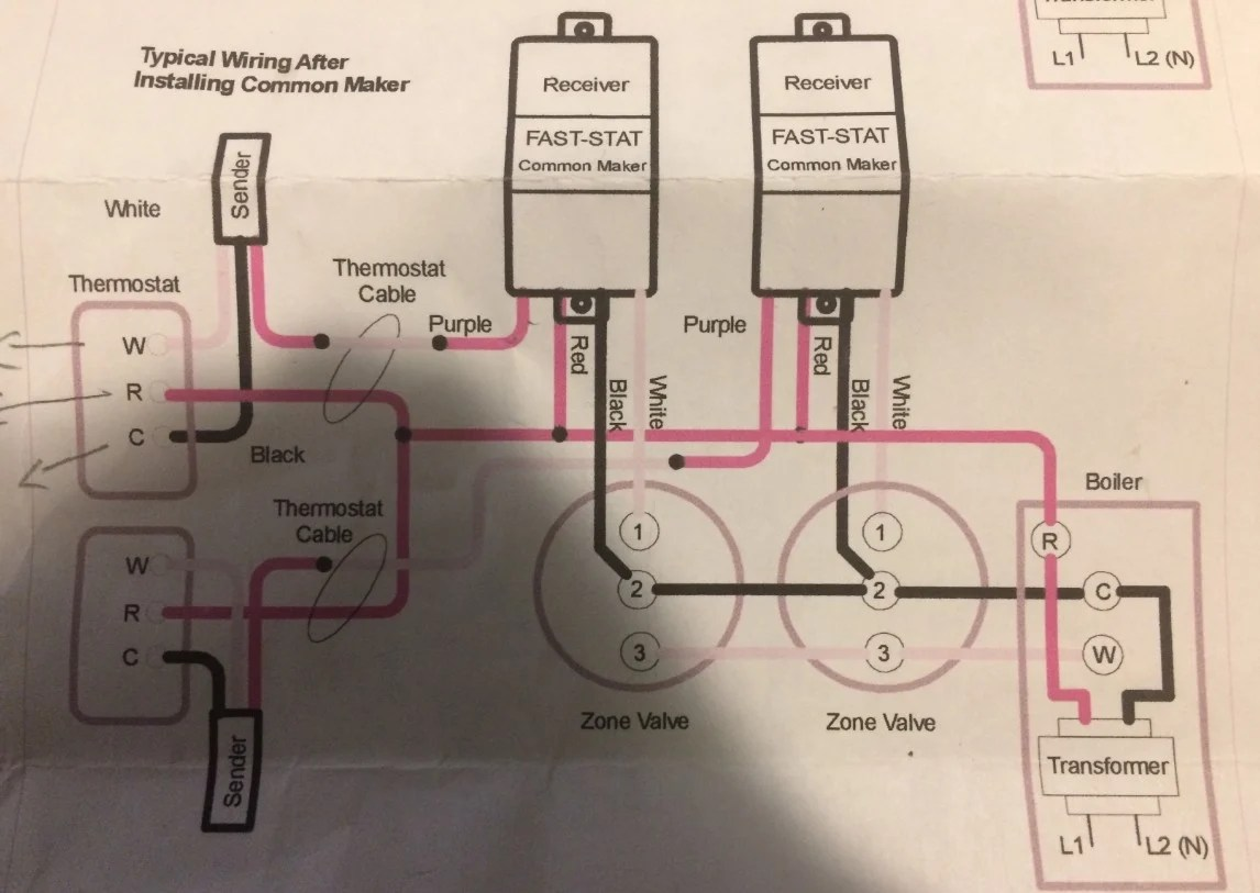 ecobee wiring diagram honda zoomer t stat  heating help the wall