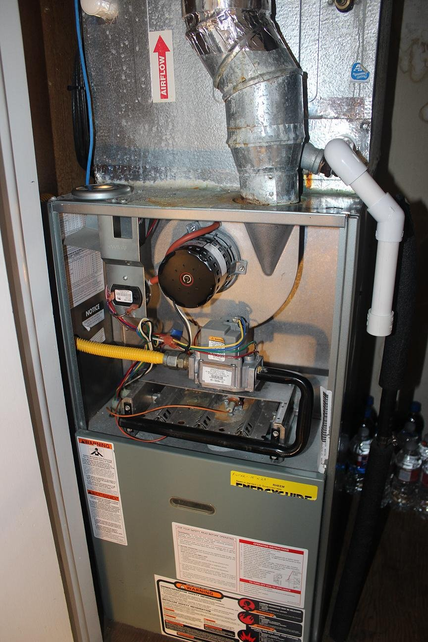 medium resolution of  a cold bedroom that had completely come apart air flow seems good at all registers the second photo shows the only way the furnace works