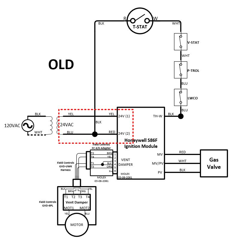 New Ignition Module, Wiring Question. — Heating Help: The Wall