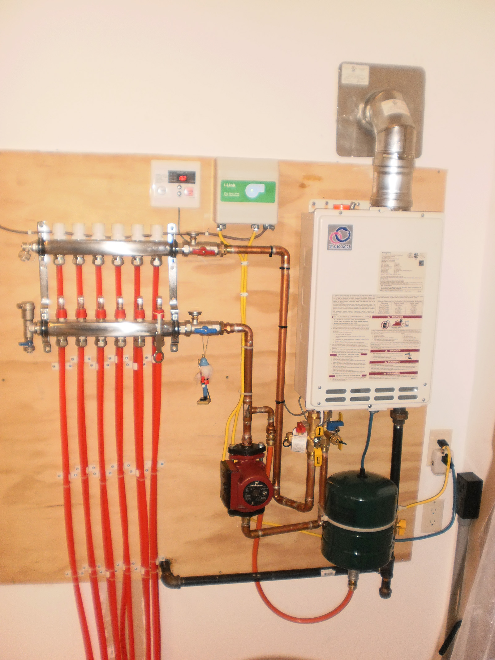 plumbing manifold diagram wiring of a house hydronic floor system heat boiler design