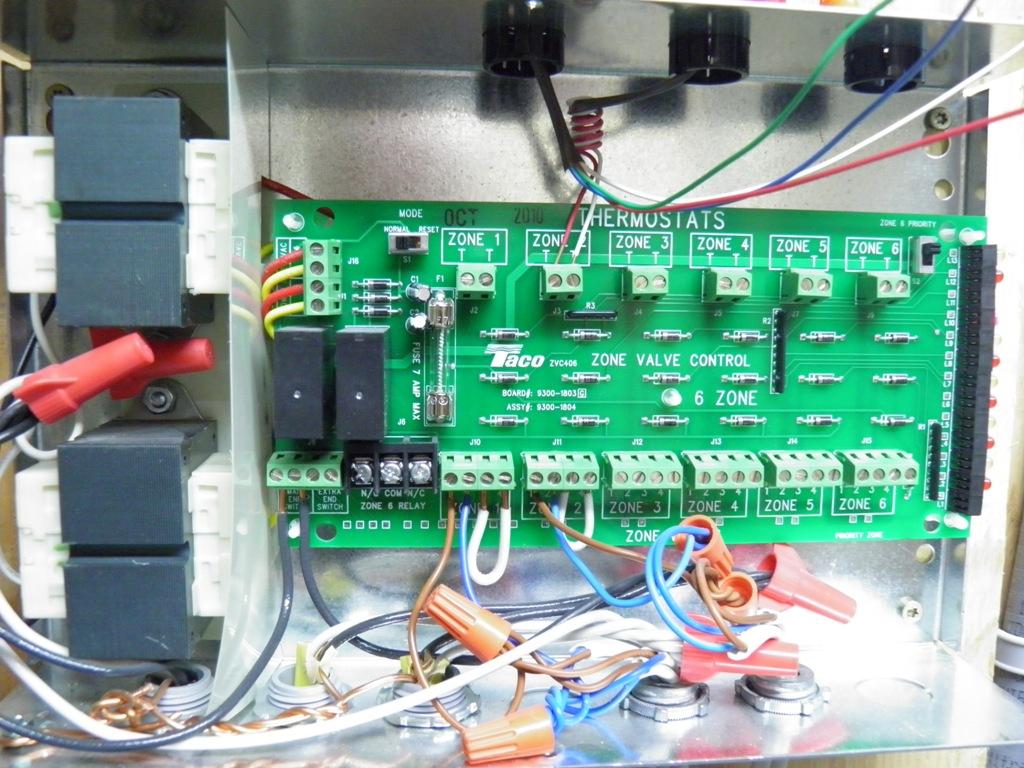 Wiring Taco Zone Valves