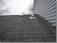 Is this vent pipe installed incorrectly and the source of ...
