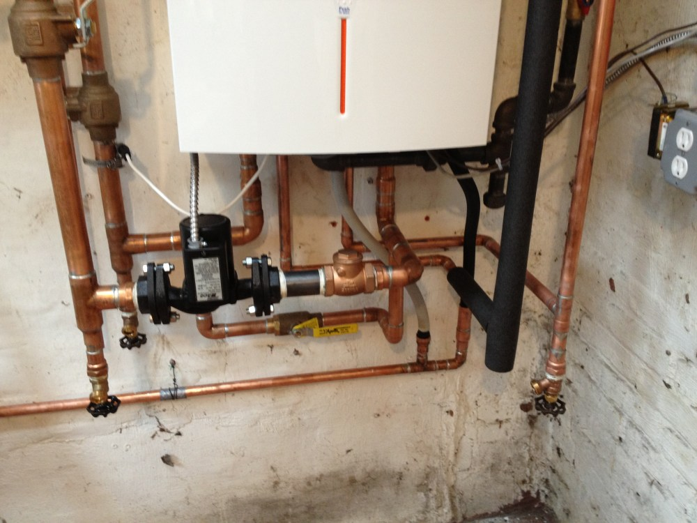 medium resolution of basement radiator does not heat after boiler changed heating help img 0716 piping a combi boiler diagram