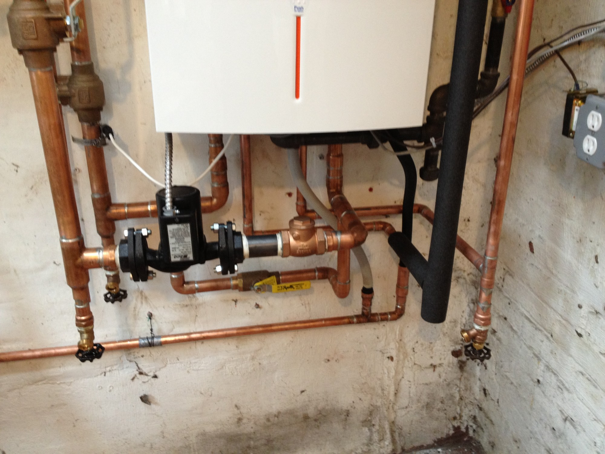 hight resolution of basement radiator does not heat after boiler changed heating help img 0716 piping a combi boiler diagram
