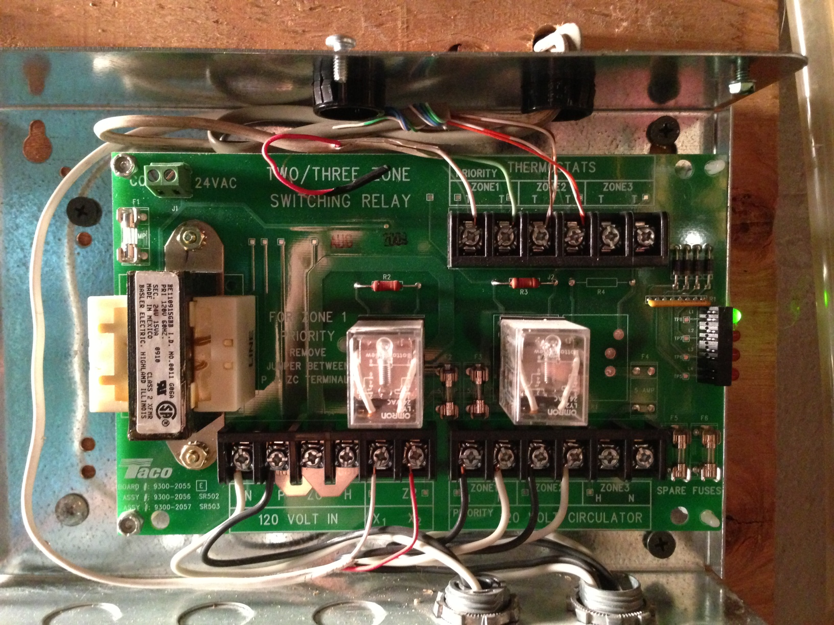 Taco Boiler Zone Controller Wiring Diagram On Taco Zone Wiring