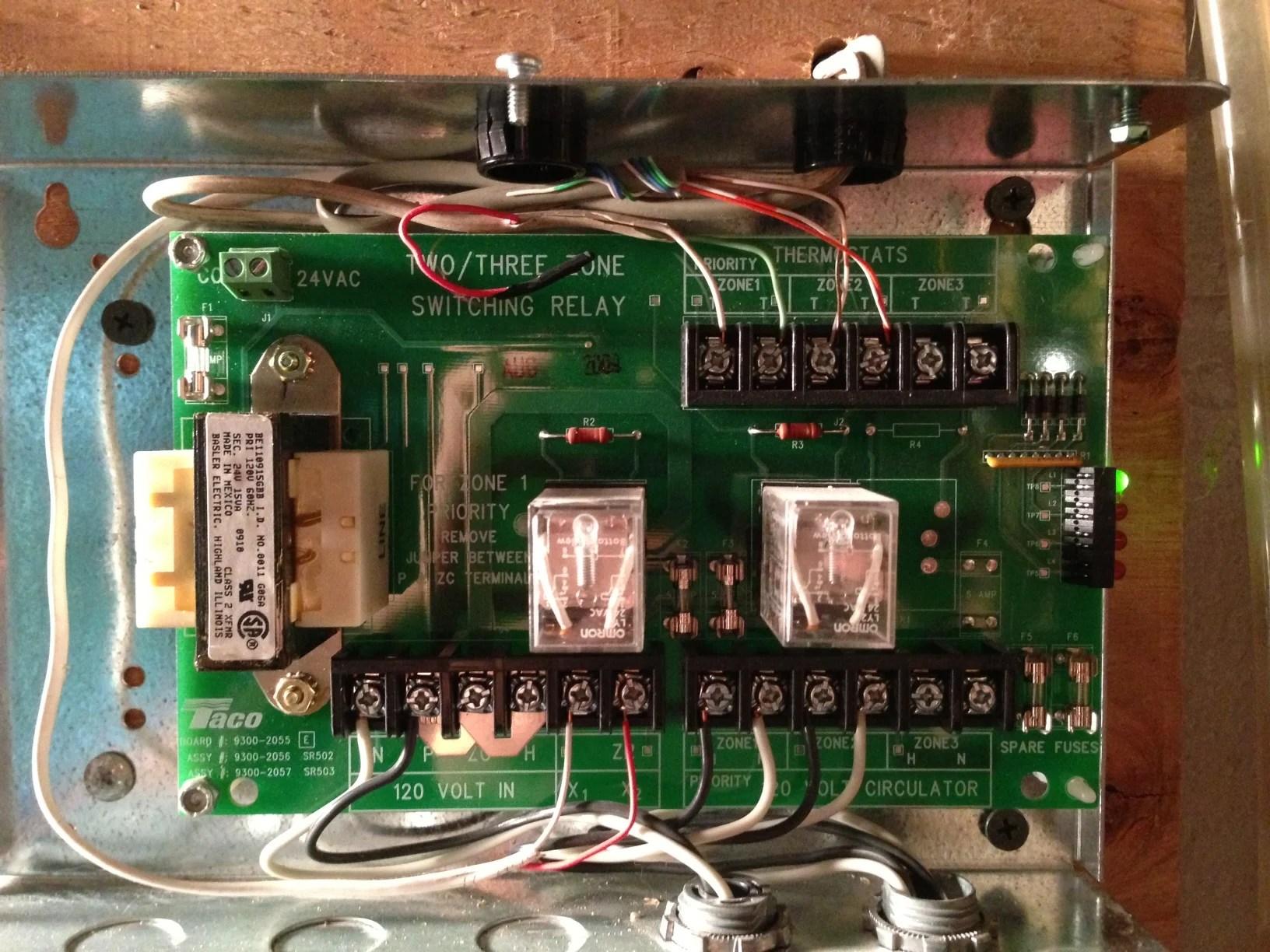 taco relay panel wiring wiring schematic diagram 15 Taco Circulator Pump Wiring
