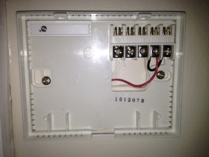 Honeywell WiFi thermostat RTH9580WF — Heating Help: The Wall
