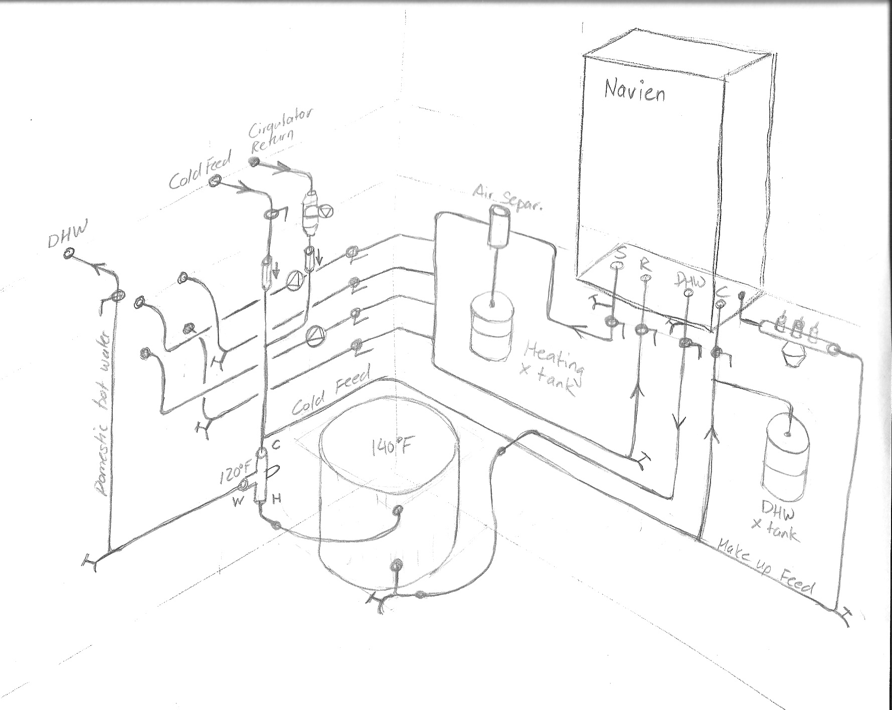 33 Navien Combi Boiler Piping Diagram