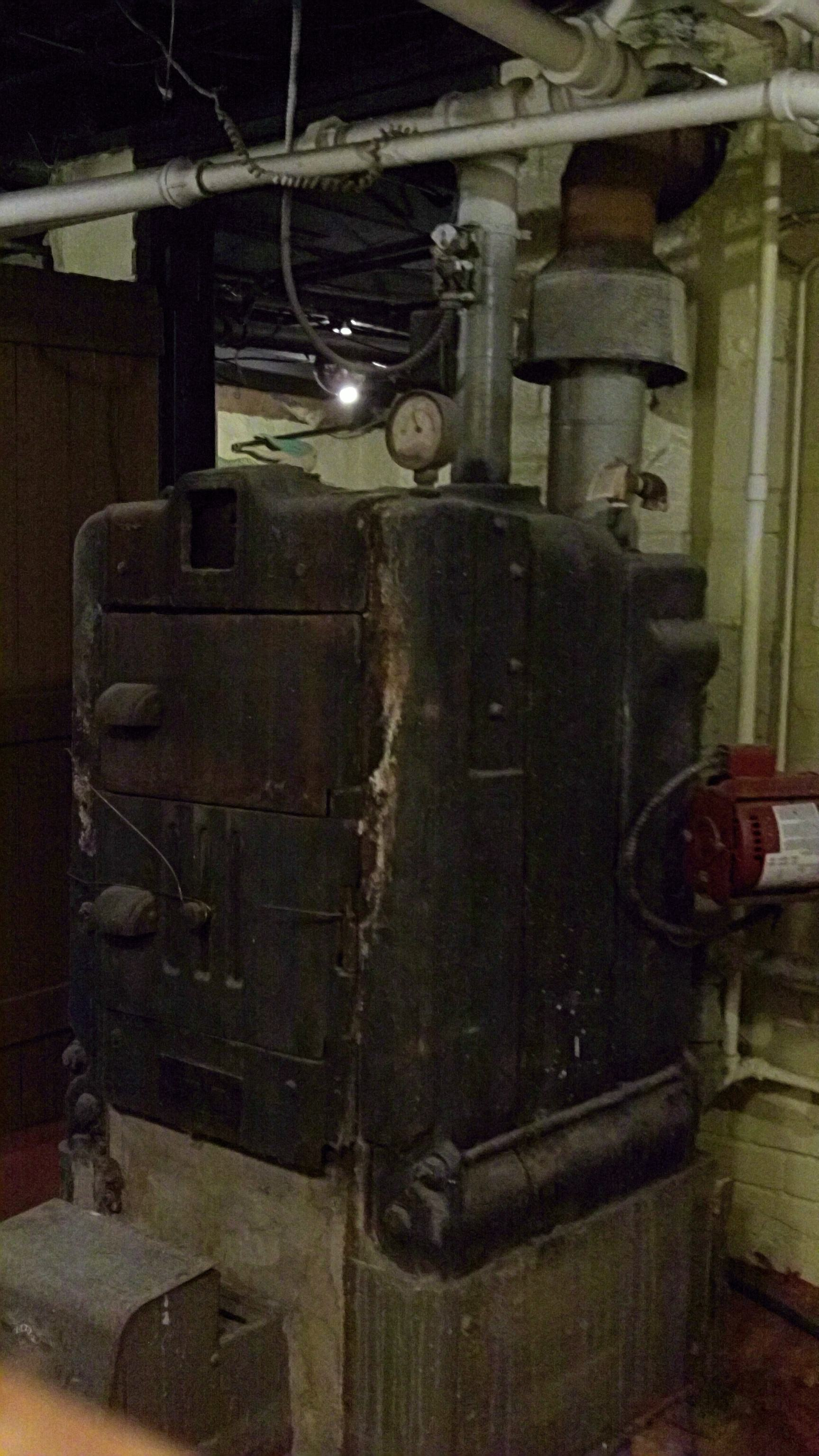 old National boiler  Heating Help The Wall