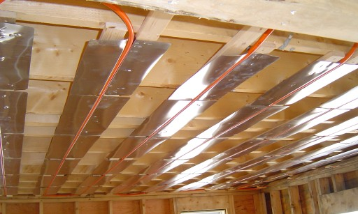 build new house radiant heat  Heating Help The Wall