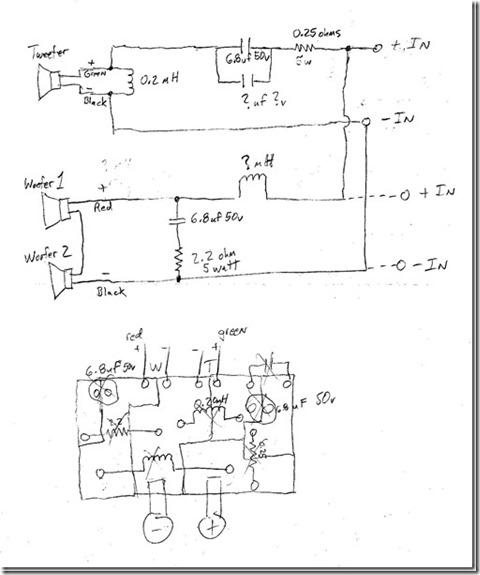 bi amp wiring diagram 12 volt flasher just completed vr3