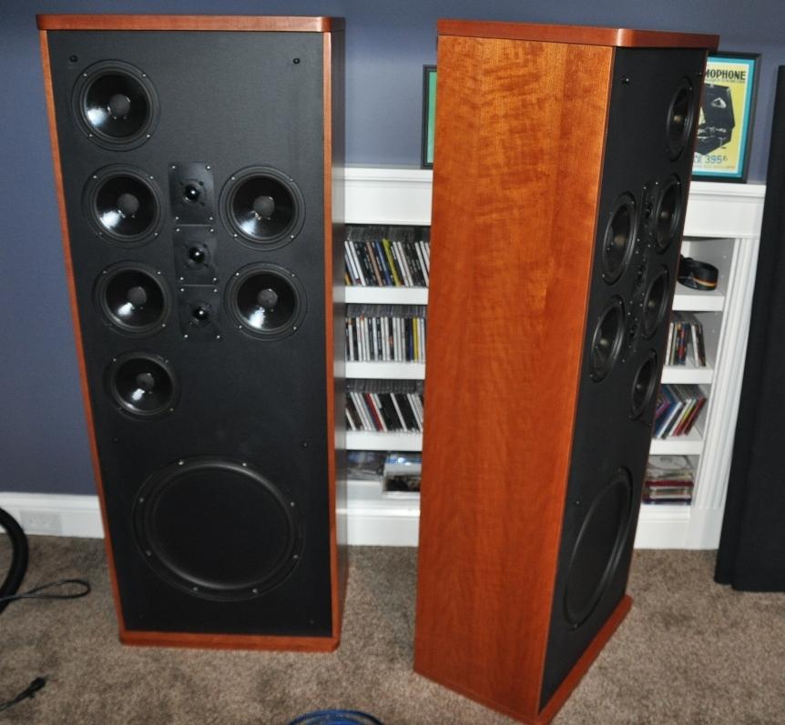 SDA SRS 23tl fully modded cherry panels  Polk Audio