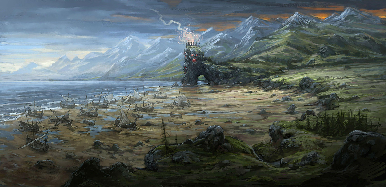 Total War Shogun 2 Fall Of The Samurai Wallpaper Hd Warhammer Campaign Map Concept Art Total War Forums