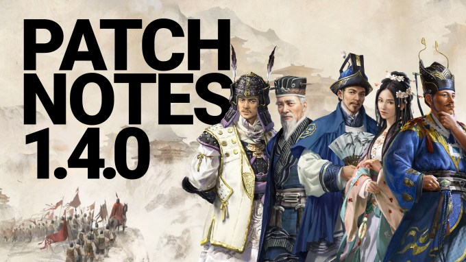 Image result for total war three kingdoms patch 1.4.0 sote