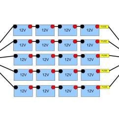 48 volt battery bank wiring northernarizona windandsun 48 volt battery wiring diagram club car 1998 clubcar [ 1056 x 816 Pixel ]