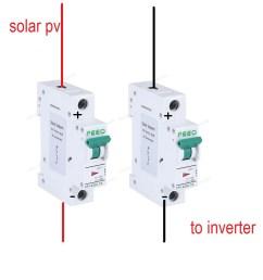 dc breaker 1pole vs 2pole northernarizona windandsun dc breaker wiring diagram dc breaker wiring [ 1000 x 1000 Pixel ]