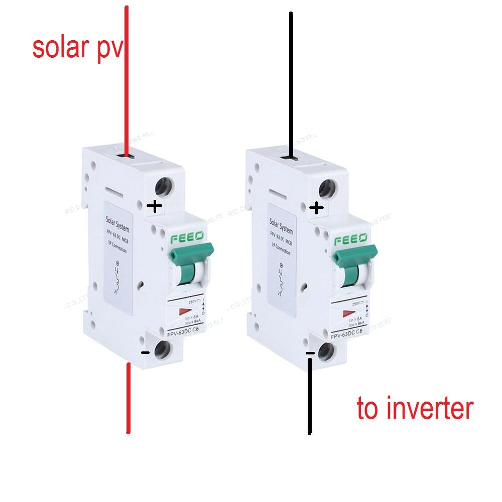 hight resolution of dc breaker 1pole vs 2pole northernarizona windandsun dc breaker wiring diagram dc breaker wiring