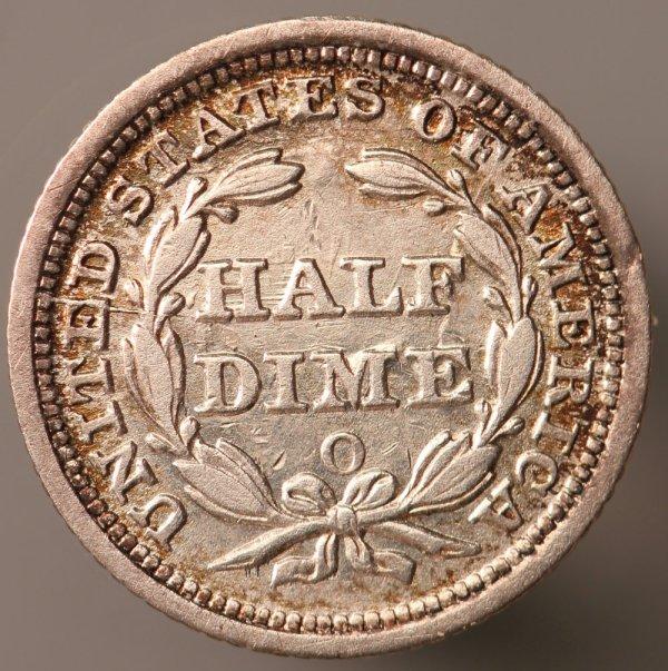 1854 Dime -6 Variety Die State Collectors