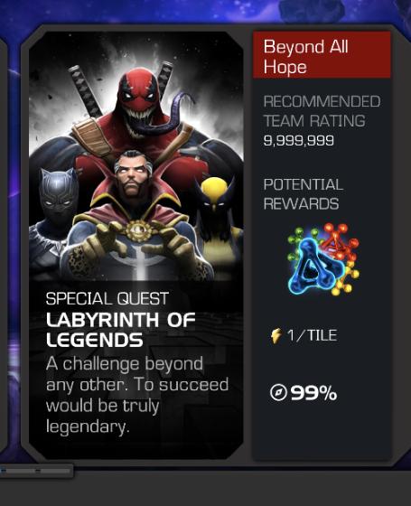 Mcoc Labyrinth Of Legends : labyrinth, legends, Missed, Marvel, Contest, Champions