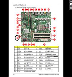 gateway motherboard wiring diagram [ 1366 x 768 Pixel ]