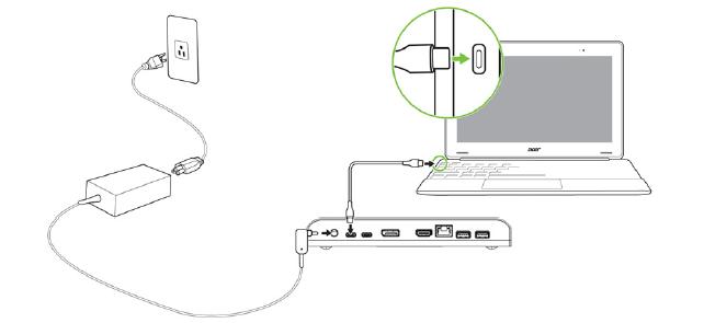 Jak podłączyć stację dokującą USB typu C do komputera