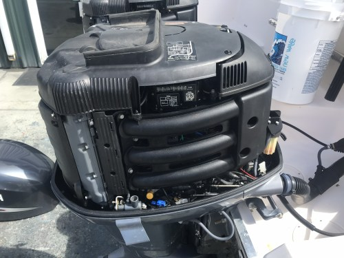 small resolution of 2006 yamaha f250 outboard 25 1450 hours good condition 2 sets of controls harness gauges prop etc 8000 00 obo call or text 941 650 0677