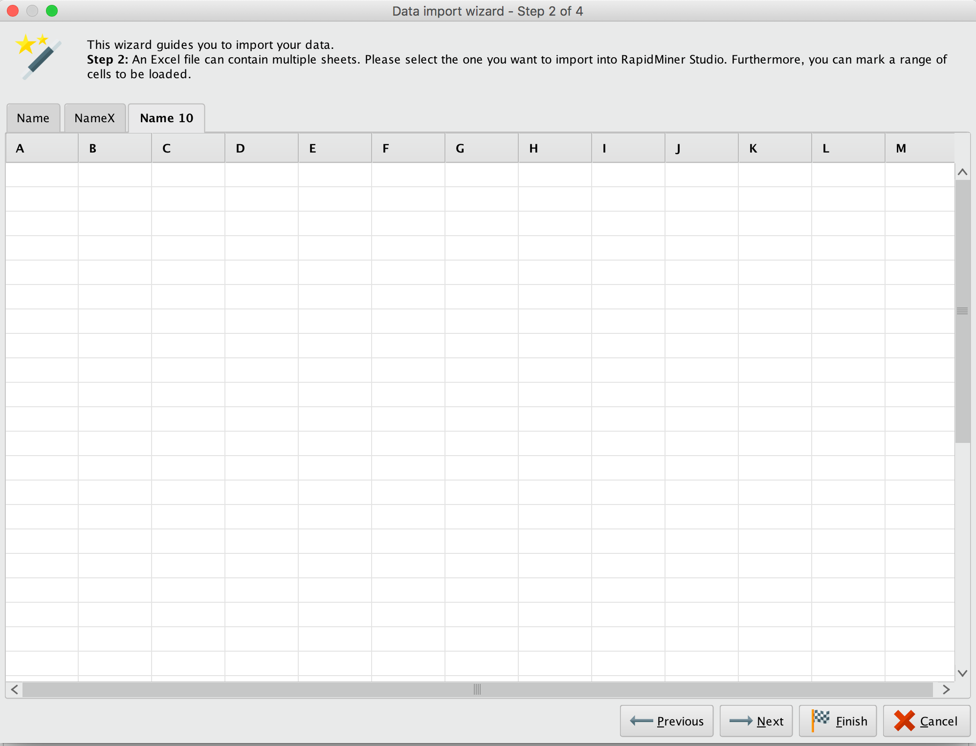 Extract Sheet Name From An Excel File