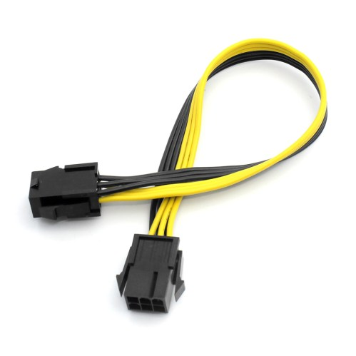 small resolution of 100pcs xt xinte 6p female to female extension cord adapter cable 25cm item no f23156 100