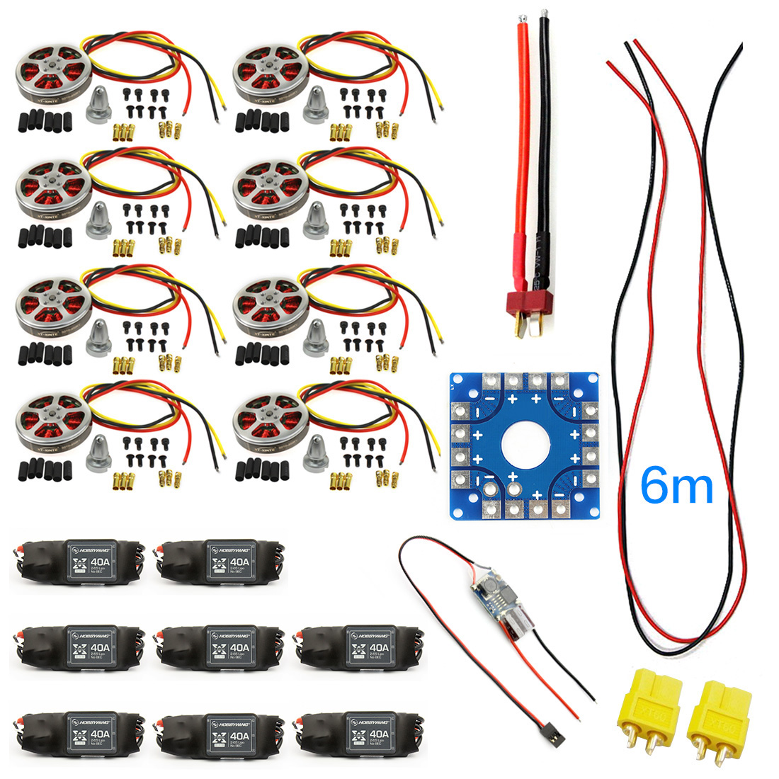 hight resolution of 40a brushless esc speed controller
