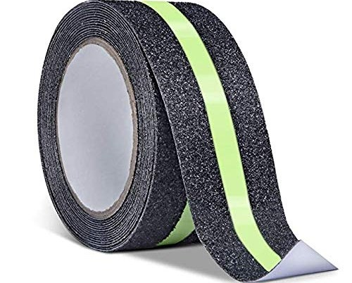 Us 24 99 Reliancer Anti Slip Safety Grip Tape 2Inx30Ft Green | Reflective Tape For Outdoor Steps | Hazard Warning Tape | Yellow | Self Adhesive | Retro Reflective | Concrete Steps