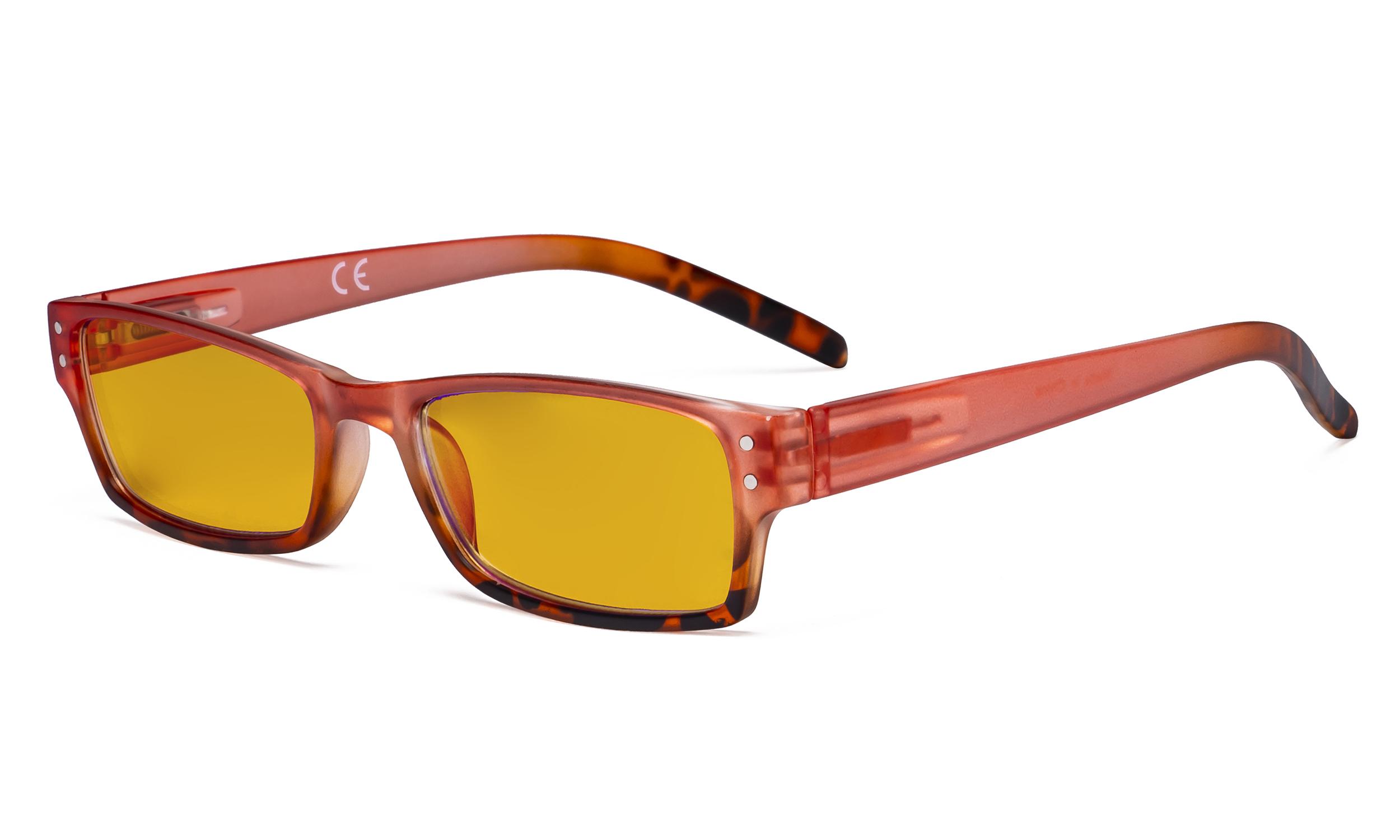Eyekepper Blue Light Blocking Glasses with Amber Filter ...