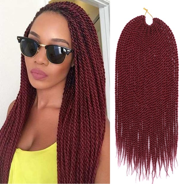 dairess 18 inches senegalese twist crochet hair braids small havana mambo twist crochet braiding hair senegalese twists hairstyles for black women