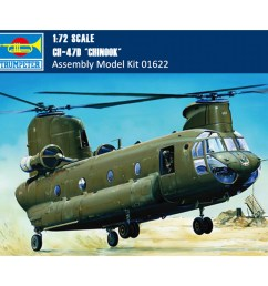 us 25 59 trumpeter 01622 1 72 scale ch 47d chinook helicopter military plastic aircraft assembly model kit www timosmodelworld com [ 1000 x 1000 Pixel ]