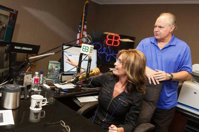 Image result for sarah palin rush limbaugh